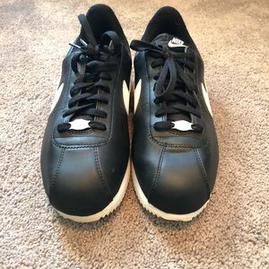 Original Nike Cortez black and white sneakers